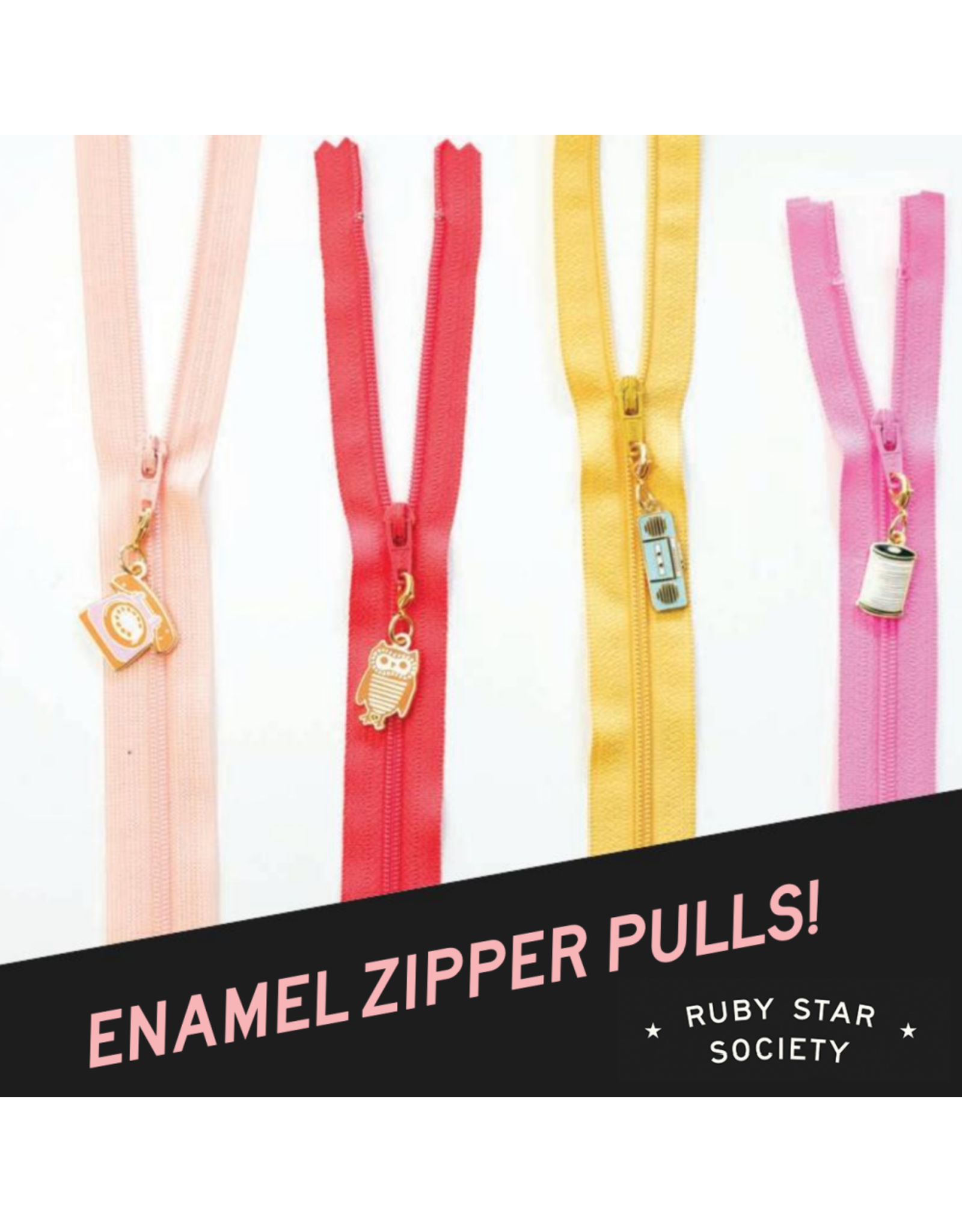 Ruby Star Society for Moda SOLD OUT-Rashida Zipper Pulls