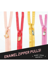 Ruby Star Society for Moda SOLD OUT-Sarah Zipper Pulls