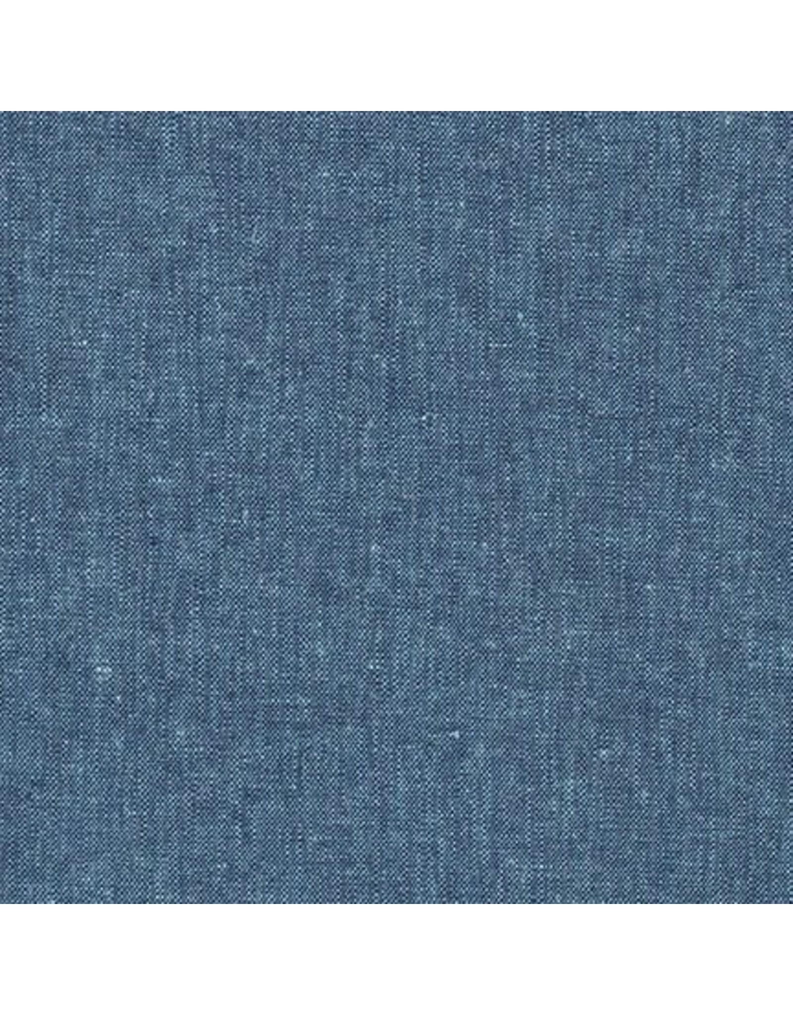 Robert Kaufman Linen, Essex Yarn Dyed in Peacock, Fabric Half-Yards