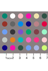 Windham Fabrics 108 Quilt Backs, Many Colored Dots in Grey, Fabric Half-Yards