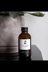 Groom Aftershave Splash - Vetiver, Lime Peel + Juniper