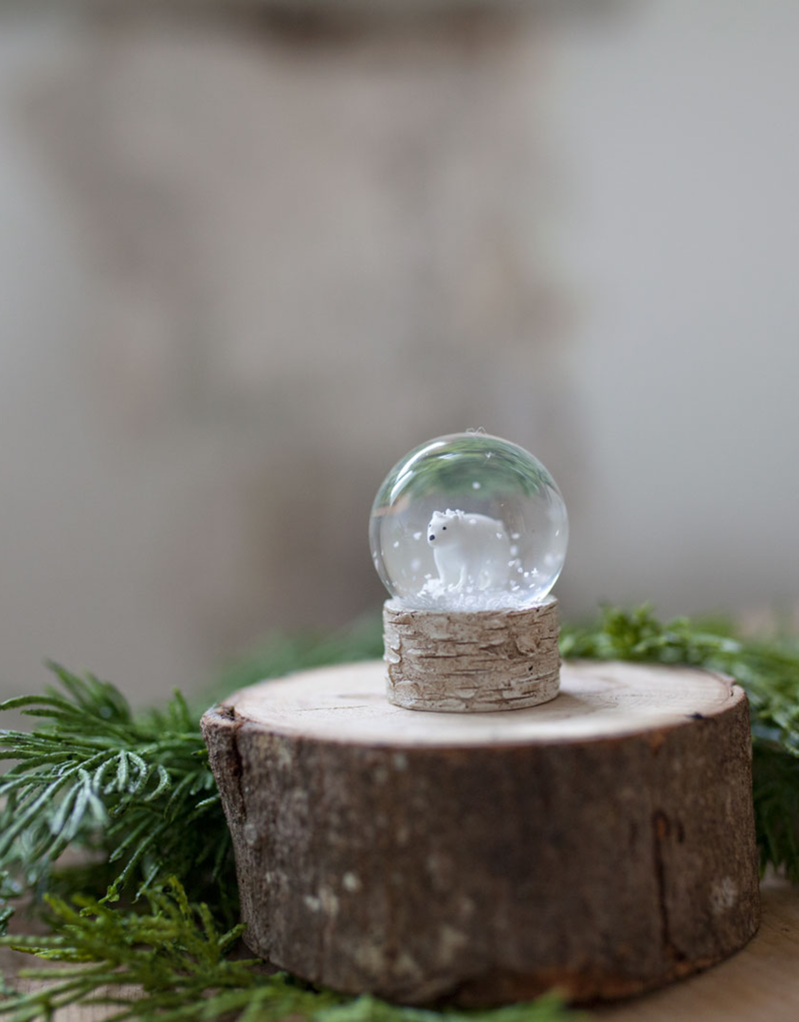 New Mini Animal Snowglobe