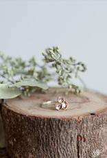 Handmade Honeycomb Ring - Bronze
