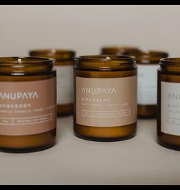 Anupaya Soy Candle - Birchbark