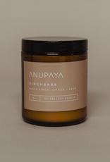 Handmade Anupaya Soy Candle - Birchbark