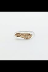 Cast Maple Key Ring - Bronze