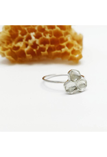 Honeycomb Ring - Sterling Silver