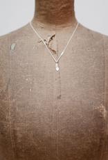 Handmade Maple Key Pendant - Sterling Silver