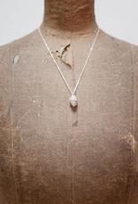 Handmade Alder Cone Pendant - Sterling Silver