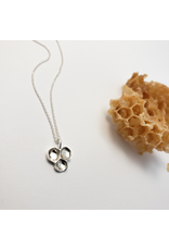 Honeycomb Pendant - Sterling Silver