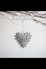 Heart Snowflake Ornament