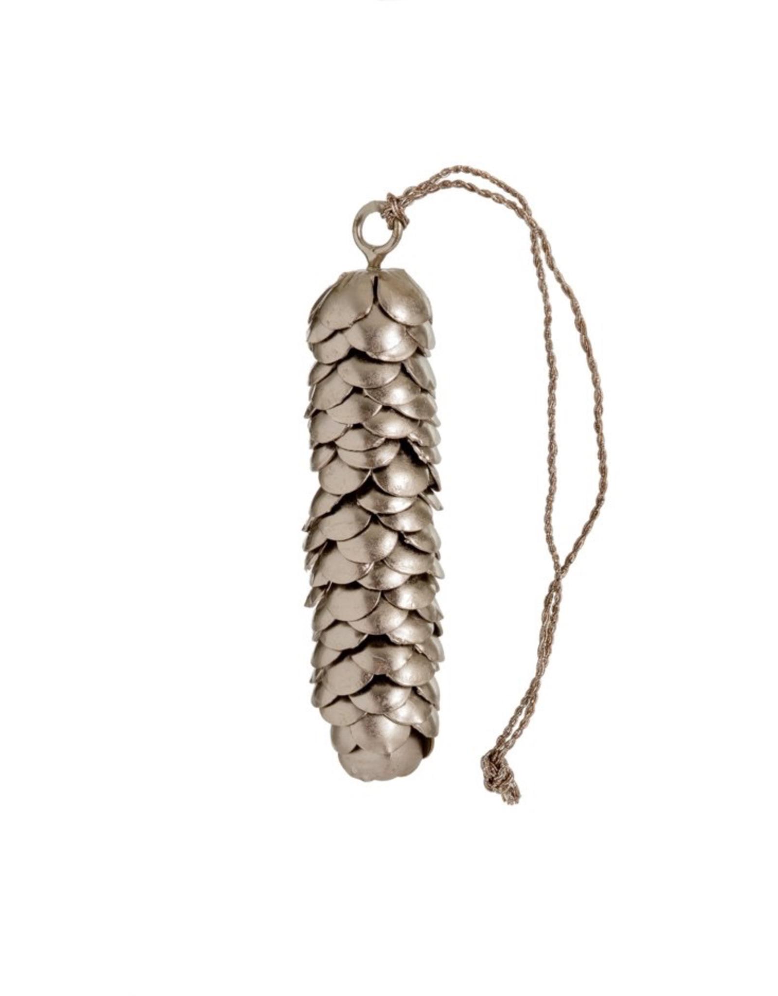 New Metal Pinecone Ornament