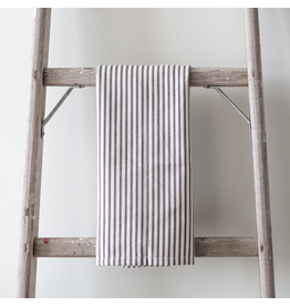Ticking Tea Towel - Black