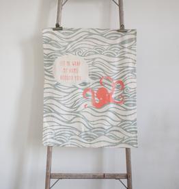 New Octopus Tea Towel