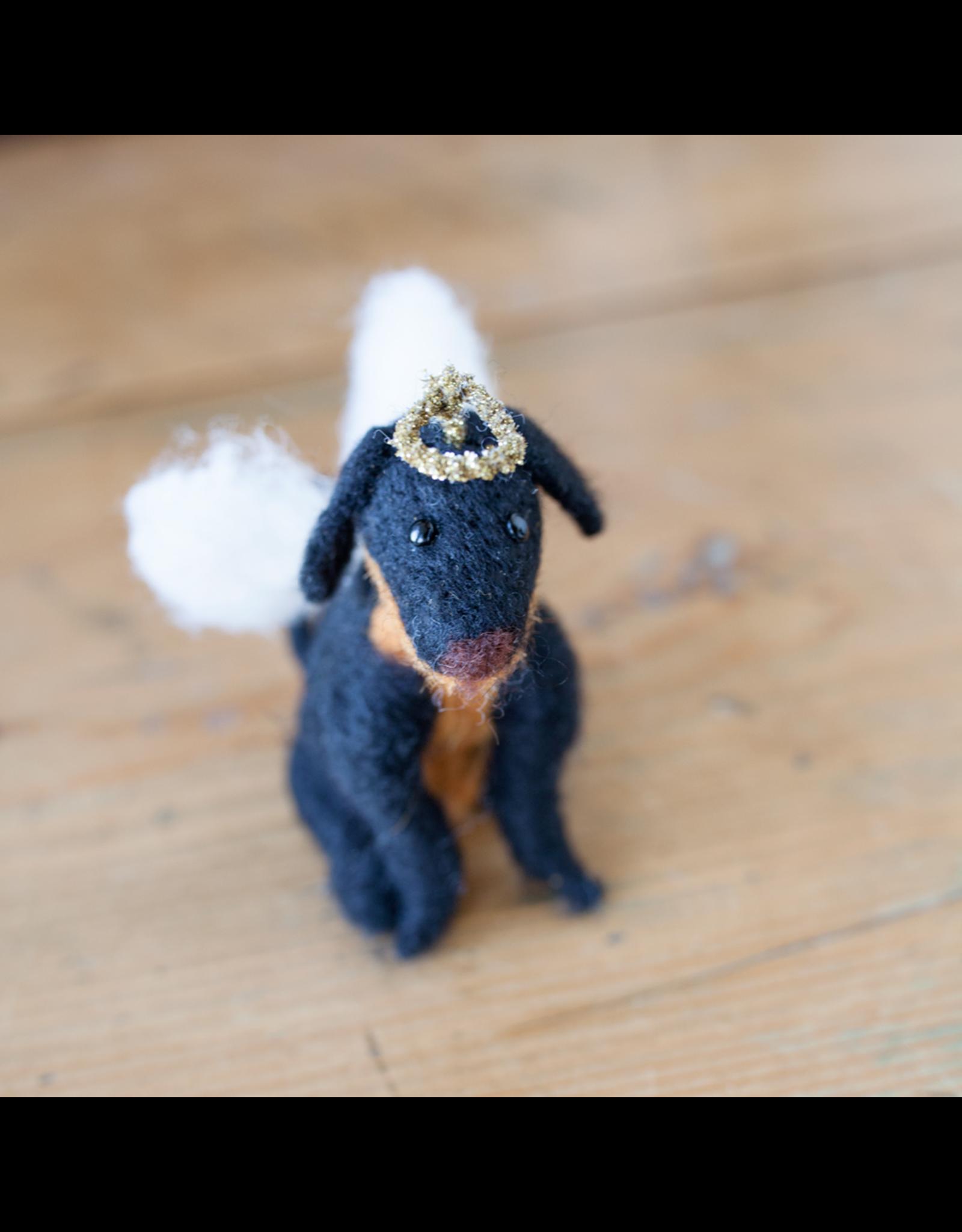Ange Dog Ornament