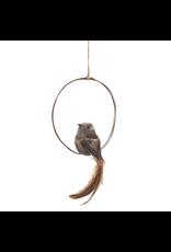 Bird on a Swing Ornament