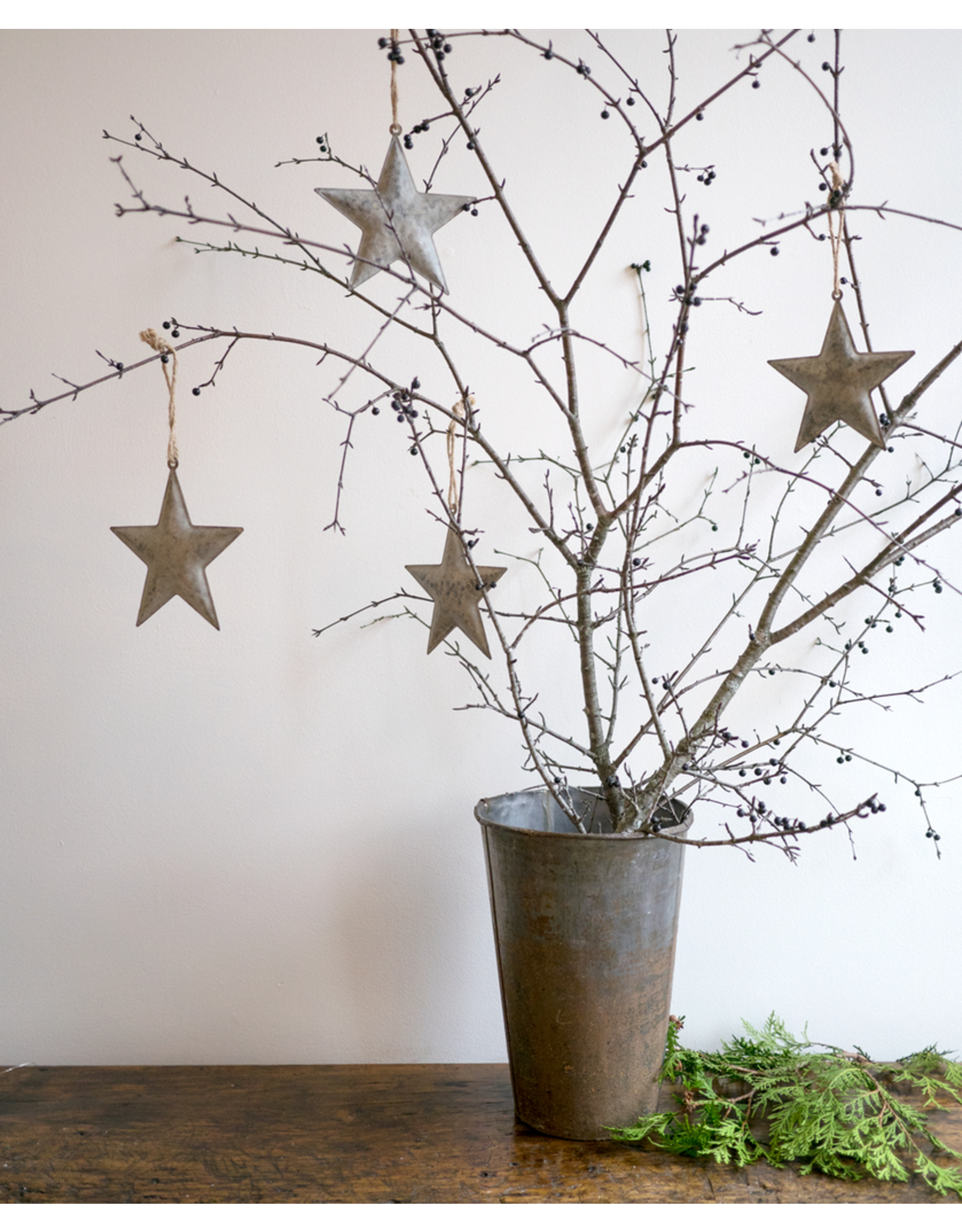 Metal Star Ornament - large