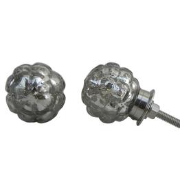 New Round Mercury Glass Knob