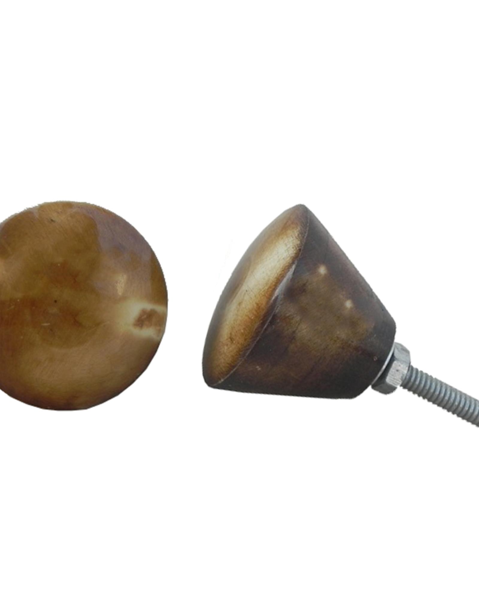 New Round Vintage Bone Knob