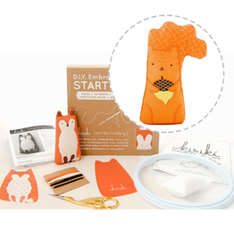 Embroidery Starter Kit - Squirrel