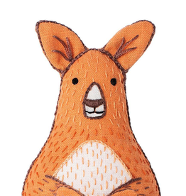Handmade Embroidery Kit - Kangaroo