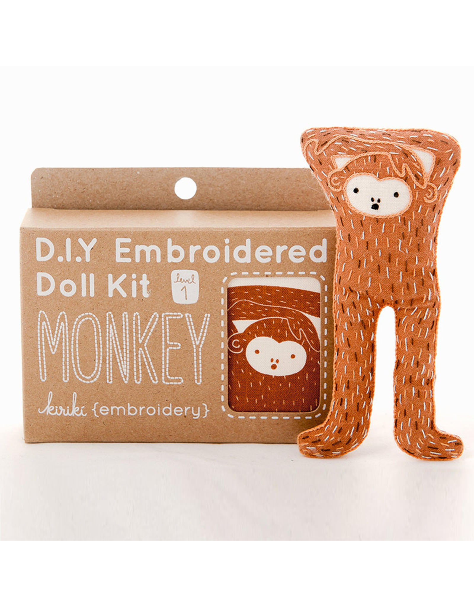 Embroidery Kit - Monkey