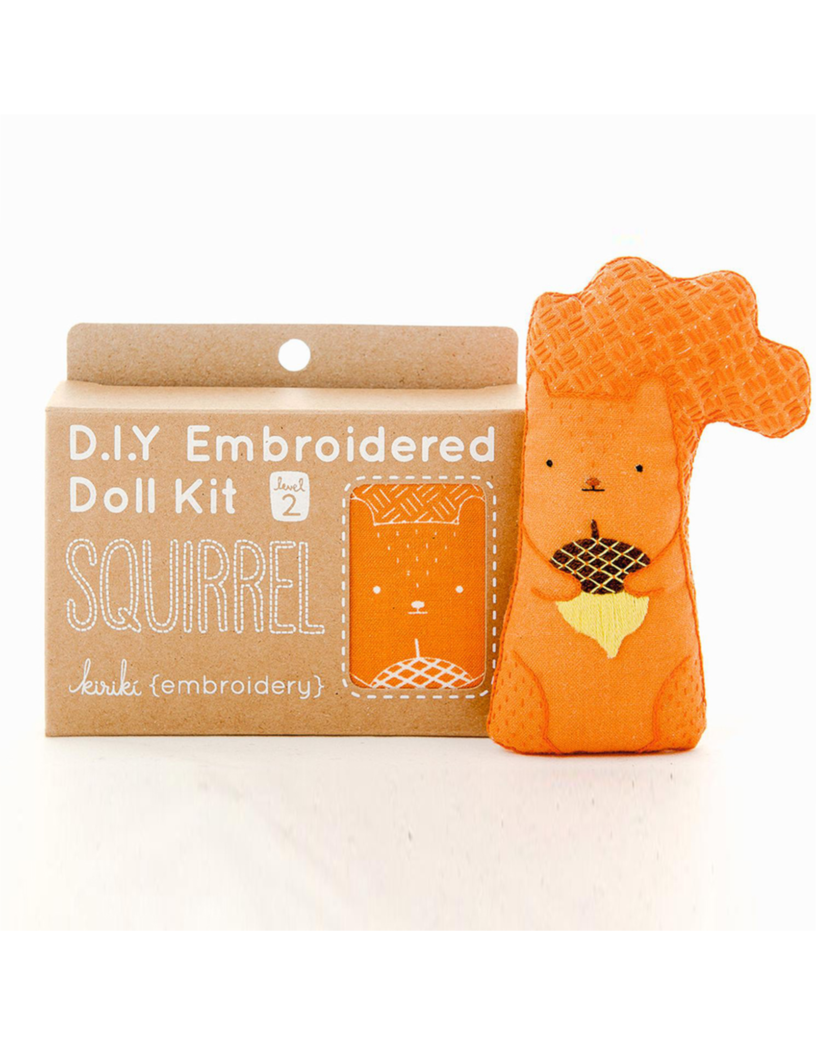 Embroidery Kit - Squirrel