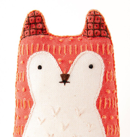 Handmade Embroidery Kit - Fox