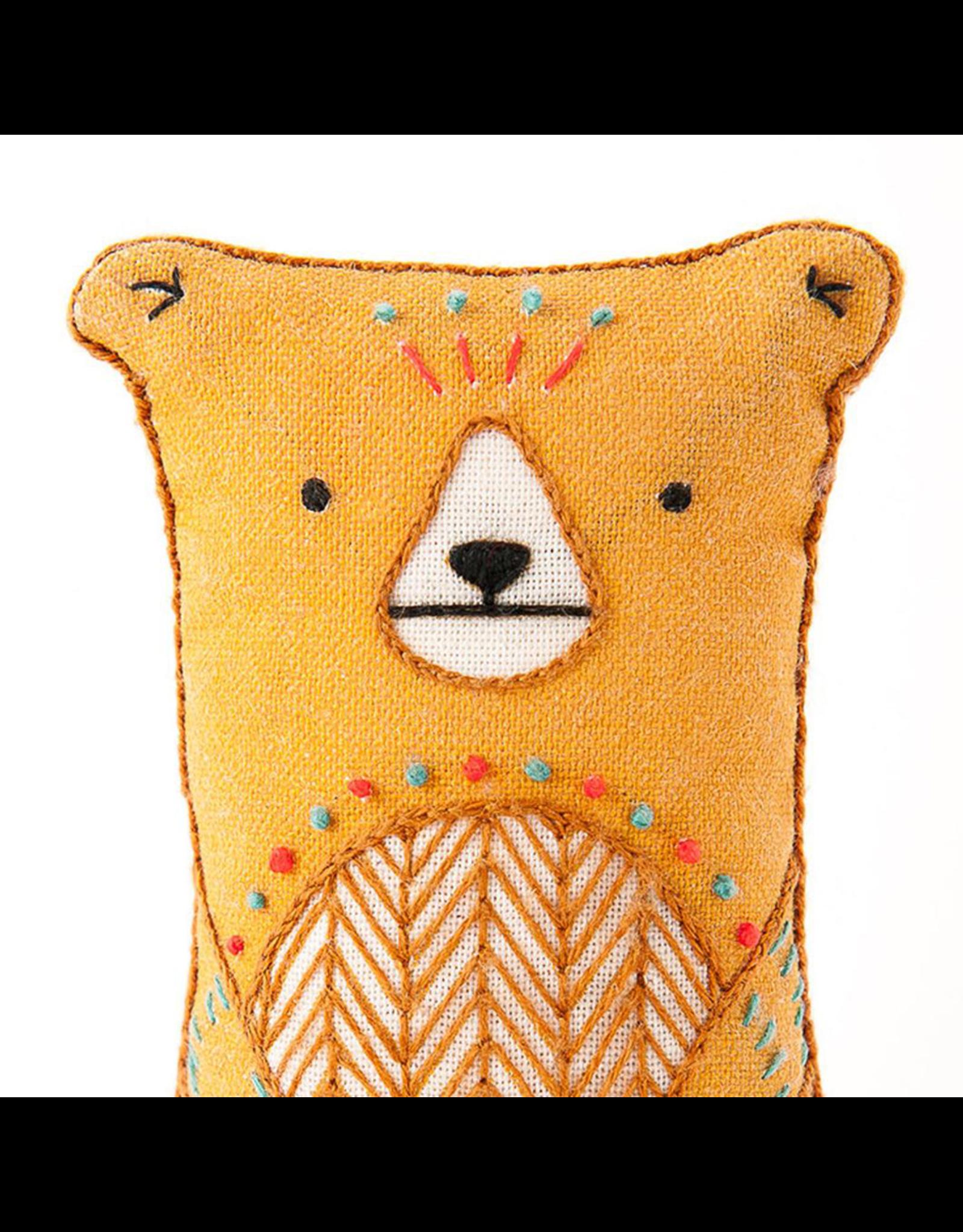 Embroidery Kit - Bear