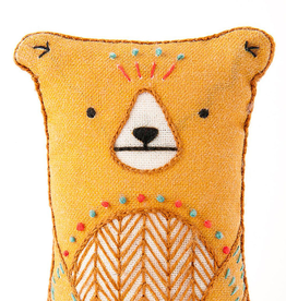 Handmade Embroidery Kit - Bear