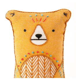 Embroidery Kit - Bear
