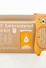 Handmade Embroidery Kit - Bear