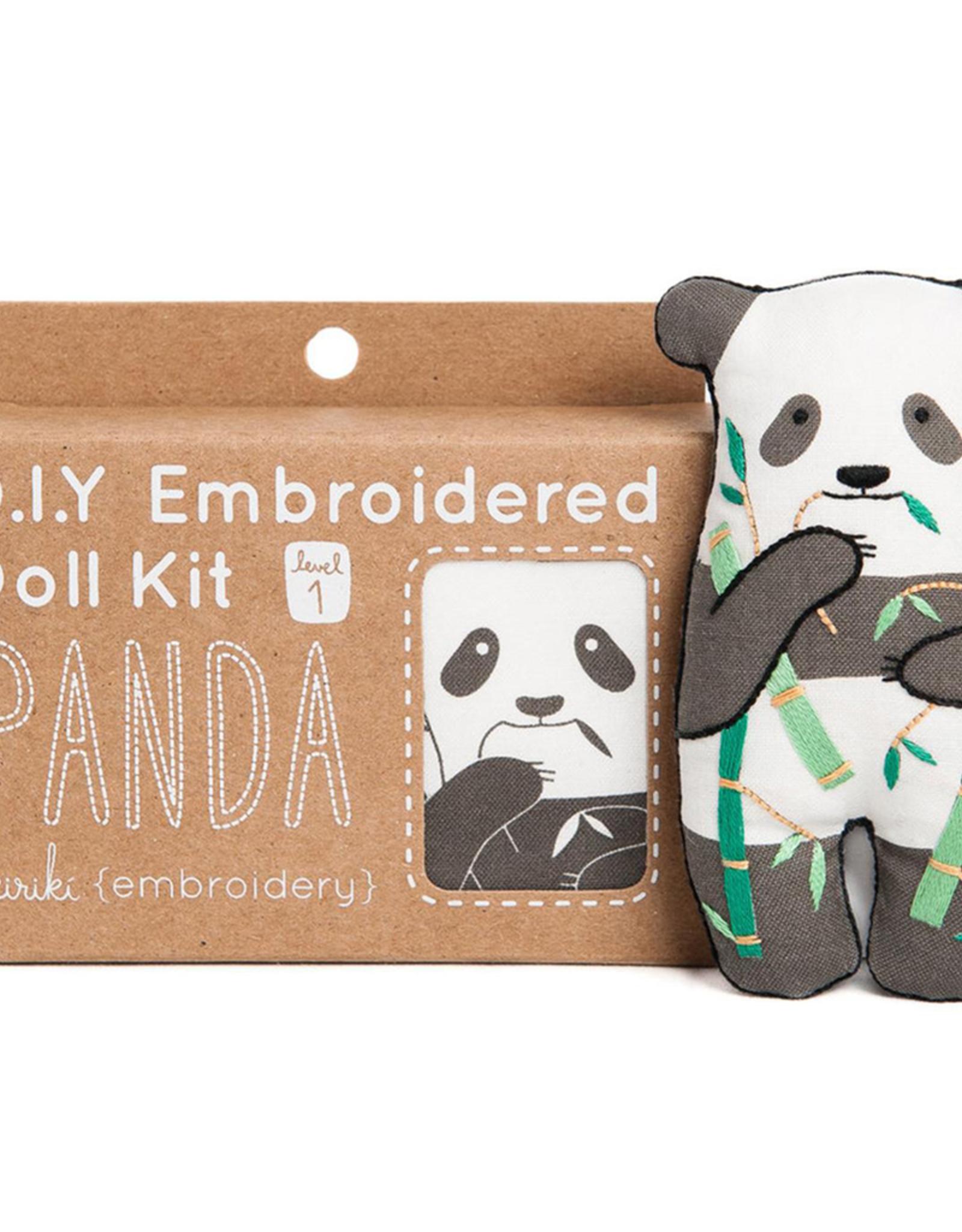 Handmade Embroidery Kit - Panda
