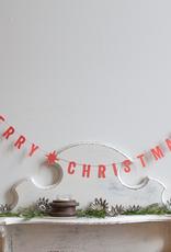 New Paper Merry Christmas Garland