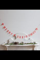 Paper Merry Christmas Garland