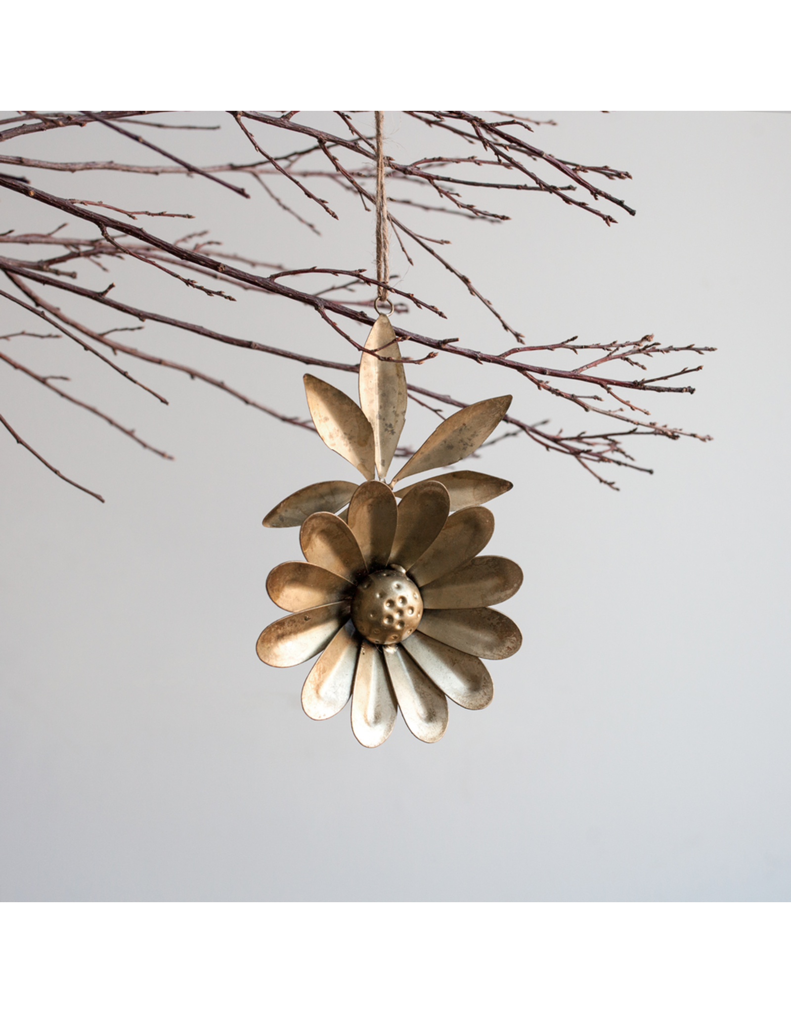 Metal Flower Ornament