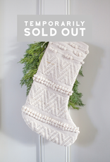 New Chunky Woven Stocking