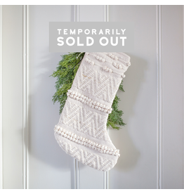 Chunky Woven Stocking