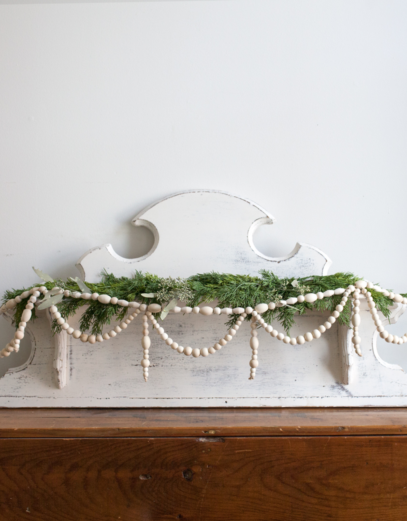 New Wood Bead Garland