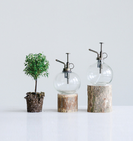 New Round Glass Plant Mister