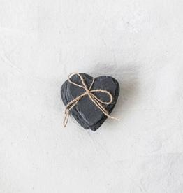 New Slate Heart Coasters