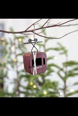 Cable Car Ornament