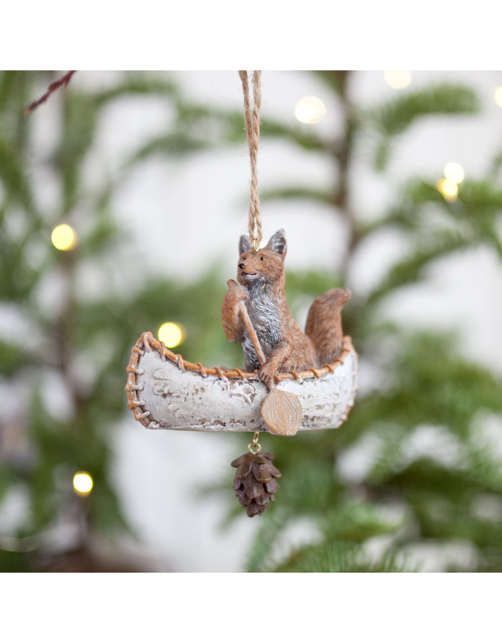 Forest Animal Voyageur Ornament