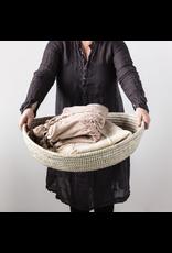 Handwoven Grass Basket