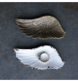 Pewter Wing Shaped Dish