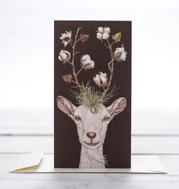New Card - Goat With Cotton