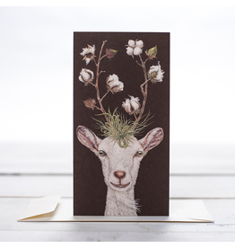Card - Goat With Cotton