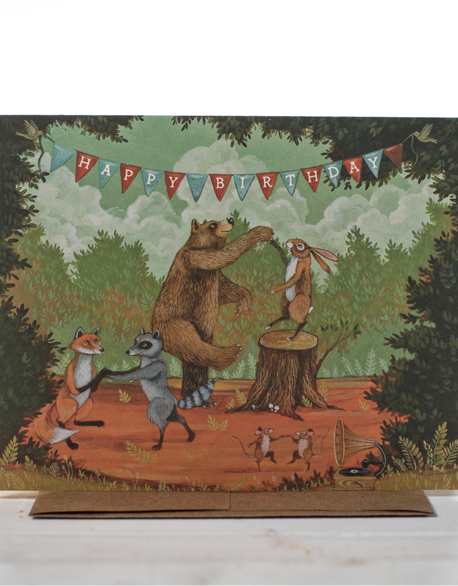 New Card - Birthday In The Forest