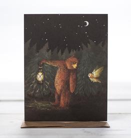 New Card - Bear + Owl Friends