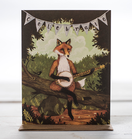 New Card: The Fox + The Banjo